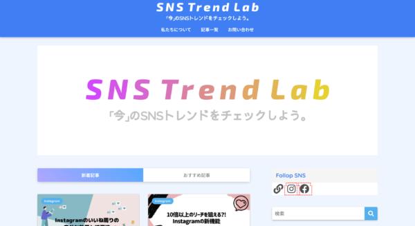 sns trend lab