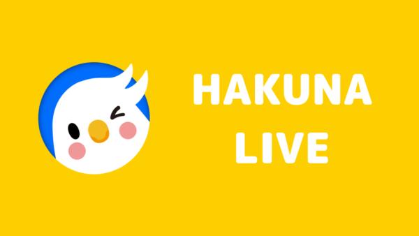HAKUNA LIVE income