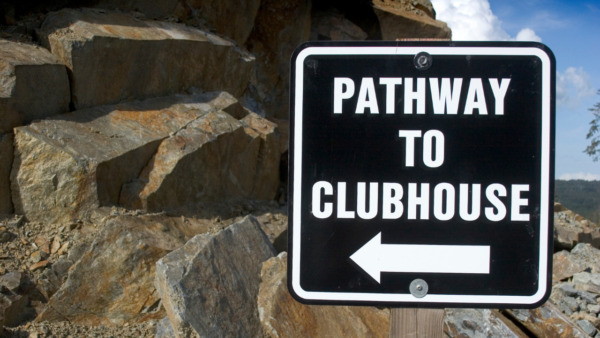 path to clubhouse