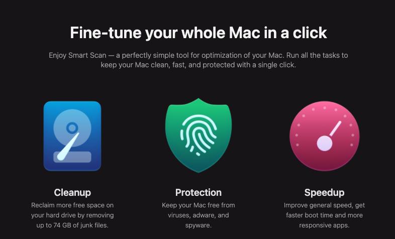 CleanMyMacの機能