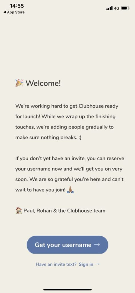 の クラブ ハウス 仕方 招待