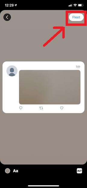 Twitter フリート