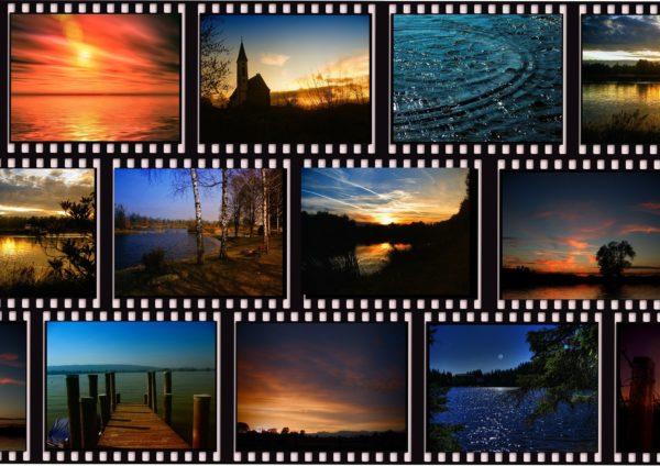 様々な映画や風景