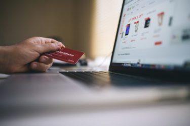 パソコンとクレジットカード