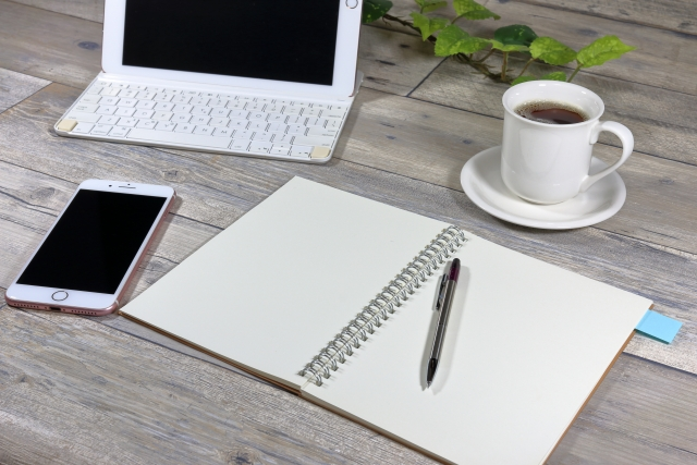 ノートやパソコン