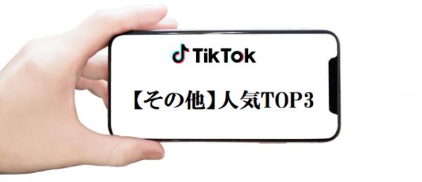 人気TikToker